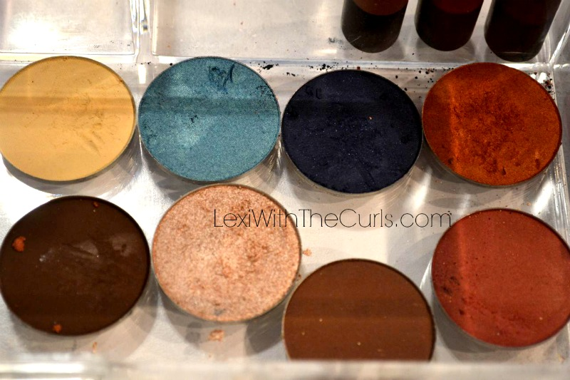 shea moisture eye shadow swatches