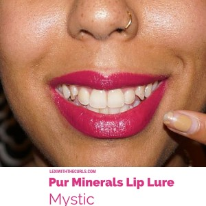 lip lure pur minerals swatch ulta